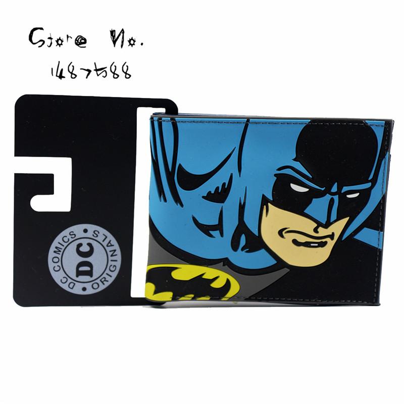 DC Comics Batman Wallet Caped Crusader Mighty Waiiet Made of Tyvek Purse(China (Mainland))
