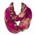 Brand New Fashion Women Ring Loop Scarves Leopard Print Cowl Neck Scarf All match Lady Soft
