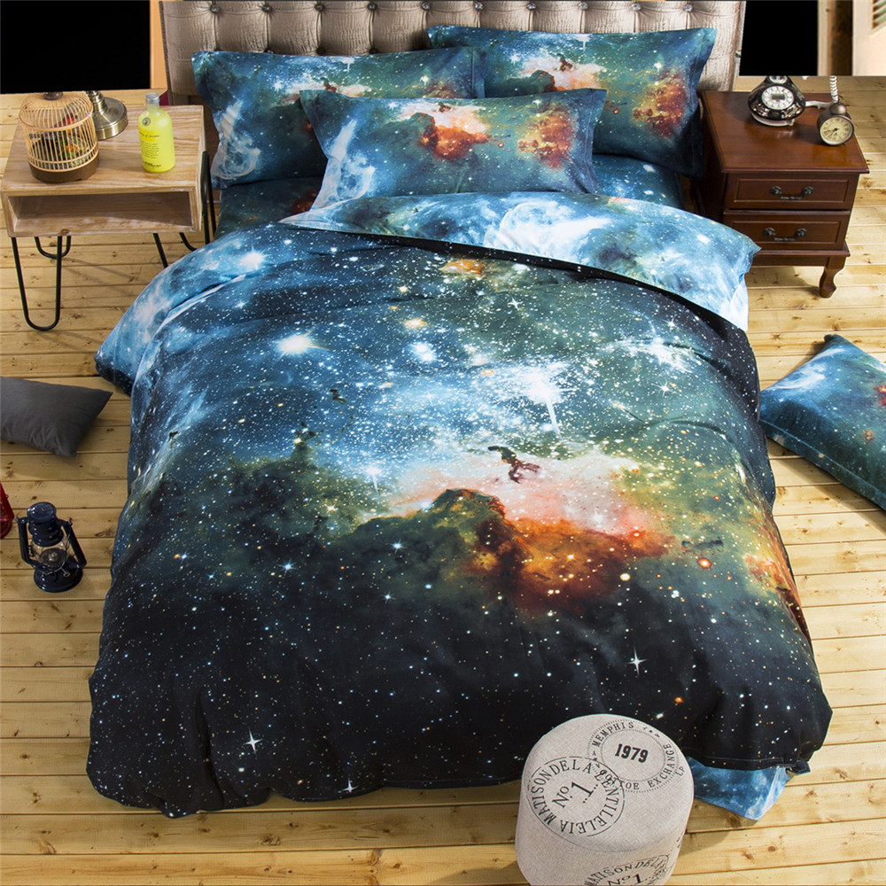 3d Comforters Christmas Bedding sets P aris bed sheets Duvet cover king Cloudy bed spread Bedliterie Bed Sheets(China (Mainland))
