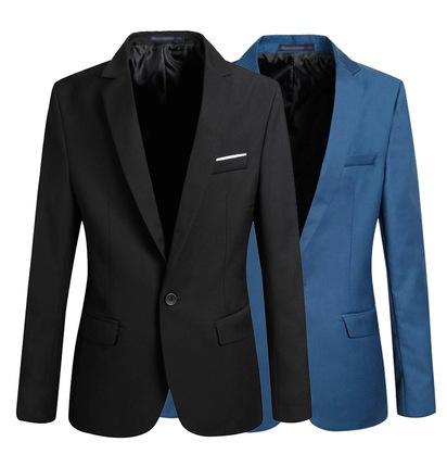 Повседневная Пиджак Моды для Мужчин Плюс Размер Бизнес Slim Fit Куртка Костюмы Мужские Blazer Кнопка Пальто Костюм Мужчины Формальное пиджак