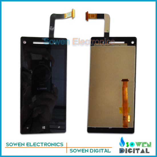 for HTC 8X C620e LCD display screen with touch screen digitizer assembly full set,Original,free shipping