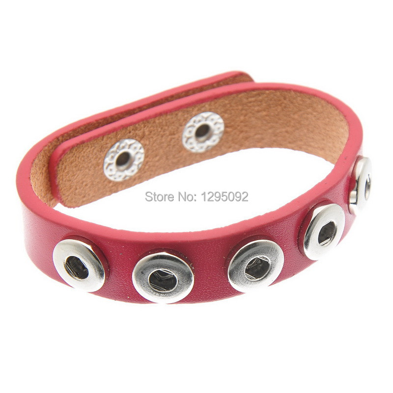 Здесь можно купить  75 Free shipping Hot New Pink Real Leather DIY Snap Button Bracelet Fit 12mm Snap Buttons Fashion Jewelry 24mmx1.5cm N402 75 Free shipping Hot New Pink Real Leather DIY Snap Button Bracelet Fit 12mm Snap Buttons Fashion Jewelry 24mmx1.5cm N402 Ювелирные изделия и часы