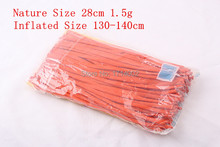 New 2015 100pcs X New Balloons Orange Colours Latex 260Q Traditional Modelling