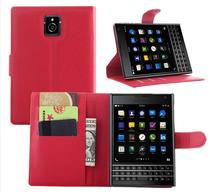 Passport Q30 Wallet Flip PU Leather Cover Case For BlackBerry Passport Q30 Card Slots Holder(China (Mainland))
