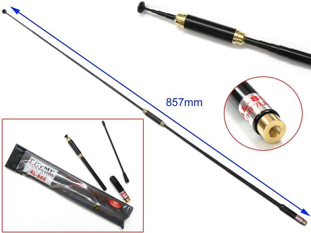 AL-800 SMA-Male Telescopic Antenna dual band for walkie talkie BAOFENG UV-3R TONFA 985 TYT TH-F5 Yaesu VX-3R/6R/7R two-way radio(China (Mainland))