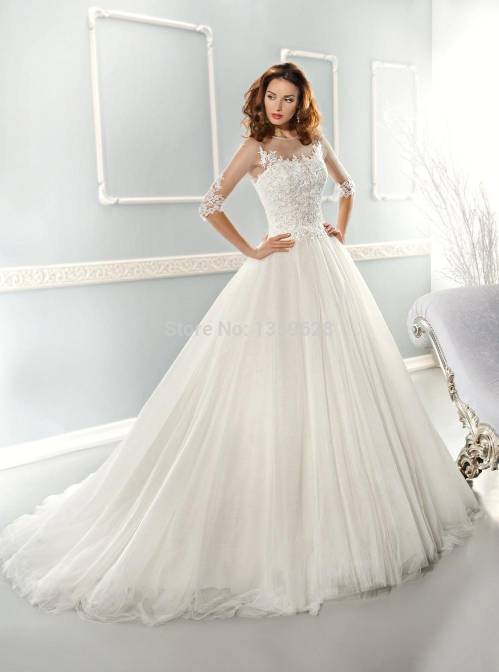 Top Luxury Wedding Dress : Top v back wedding dress designer dresses in