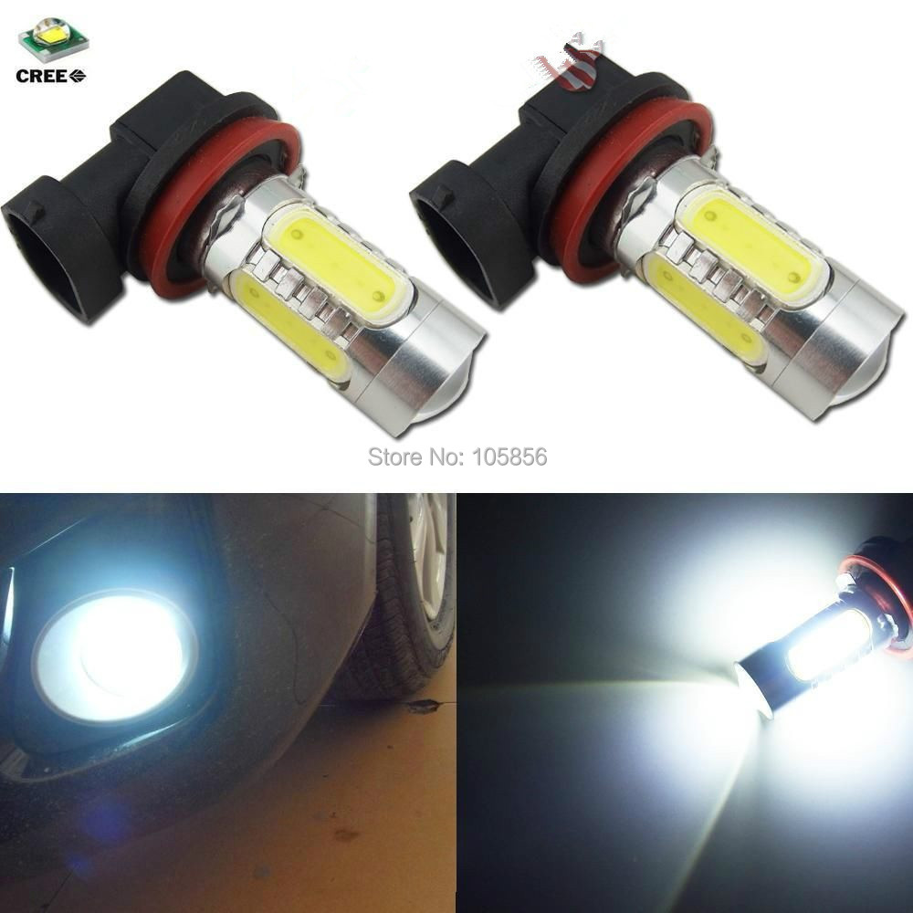 H11 11W LED Cree Constant Currency DC12V-24V White HeadLight Bulb Fog Lamp - Lisheng Light Co.,Ltd store
