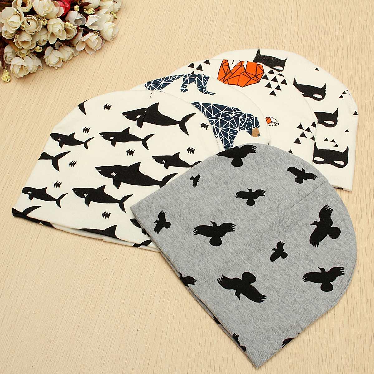 Animals Patterns Baby Toddler Crocheted Cotton Beanie Hat Infant Kids Girl Boy Knit Cap Baby Winter Children Warm Accessories(China (Mainland))