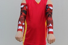 Factory direct Sublimation cycling arm sleeve cuff Non-slip design and custom  flags digital camo arm sleeve printed