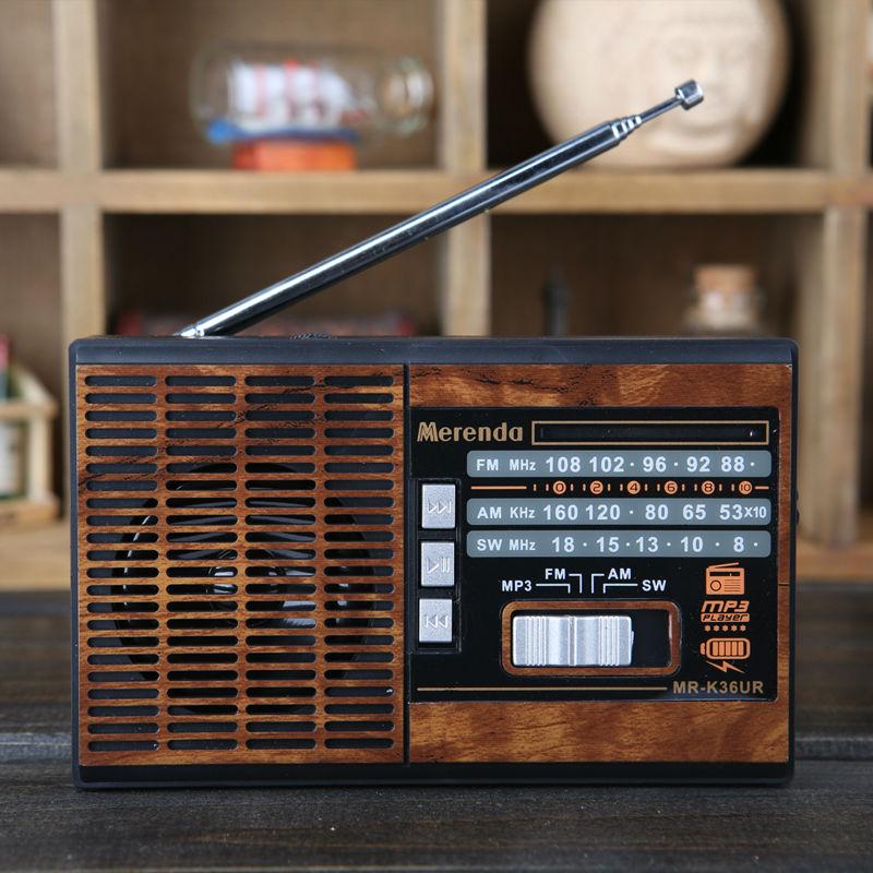 Free Shipping FM/AM/SW 3 BAND RADIO USB/TF CARD MP3 PLAYER D-36(China (Mainland))