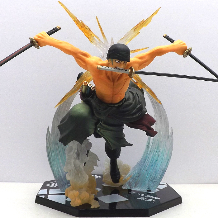 15cm Size Boxed Anime One Piece Figuarts ZORO PVC Action Figure Collection Model Toy(China (Mainland))