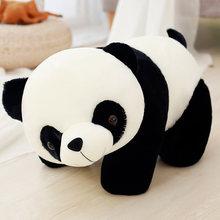 Vermelho bonito Chapéu Panda Bebê Boneca Brinquedos de Pelúcia Macia Para Crianças Panda Chinês Companheiro de Dormir Recheado & Animal Plush Bebê brinquedos Para Bebês(China)