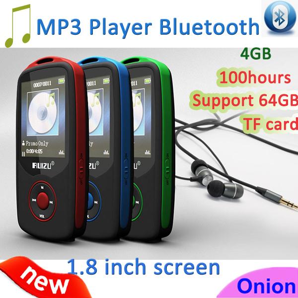 MP3-плеер 2015 RUIZU X 06 Bluetooth MP3 4 1,8/100hours FM MP3 Player X06 ruizu x50 8g bluetooth mp3 mp4 плееры