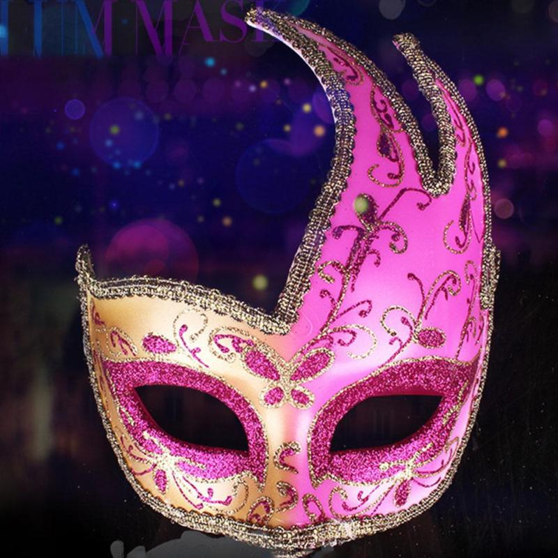 1PC Colorful Fashion Lace Maple Leaf Mask Half Face Masks For Women Girl Masquerade Decorations Halloween Venetian Mask K35(China (Mainland))