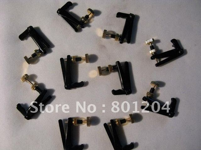 Brand new Gold and black Violin fine tuners 100pcs 4/4 size