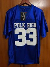 Married With Children Al Bundy 33 Polk High American Football Jersey Stitched Blue(China (Mainland))