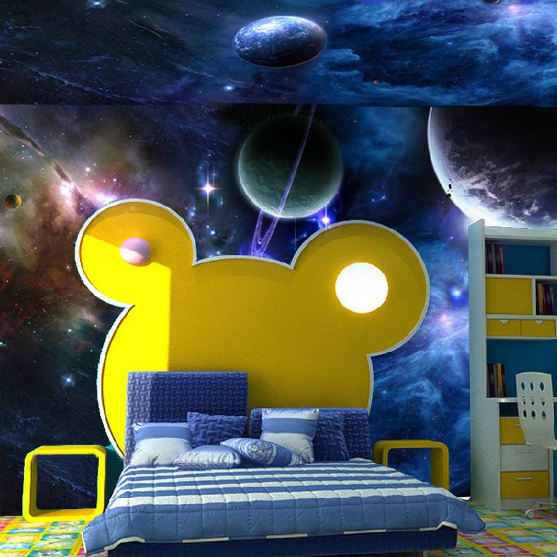 Achetez en gros papier peint au plafond galaxy en ligne for Fond plafond moderne