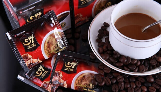180g Vietnam coffee instant coffee sugar-free g7 pure black coffee for lose weight origin brand free shipping