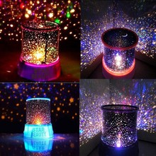 Good Gift Starry Star Master Gift Led night light For Home Sky Star Master Light LED Projector Lamp Novelty Amazing Colorful(China (Mainland))