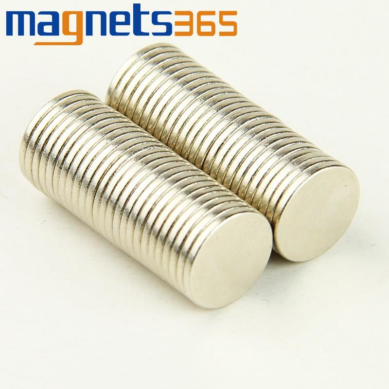 Гаджет  100pcs Strong Neodymium Disc Magnets Rare Earth 10 mm x 1 mm N35 Grade Craft Model None Строительство и Недвижимость
