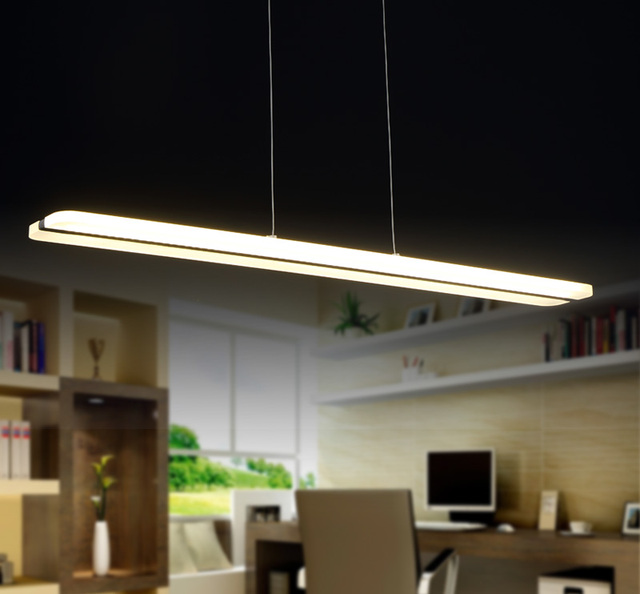 Buy simple 38w chandelier led lights for Simple suspension hanging
