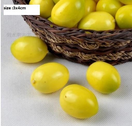 artificial fake decorative faux nontoxic foam fruits Pretend Play photography prop fruit wedding Festival Events Kitchen Decor