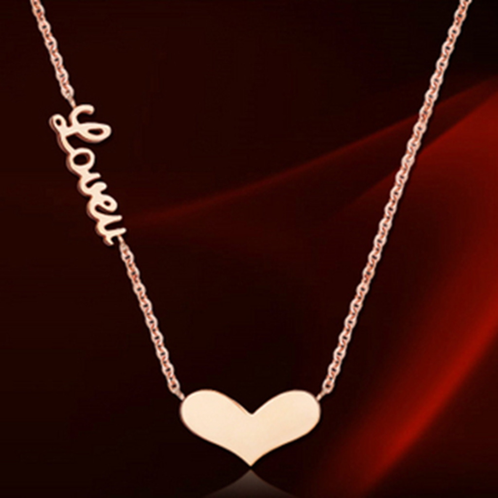 Buy wholesale fashion love heart pendant for Wholesale 14k gold jewelry distributors
