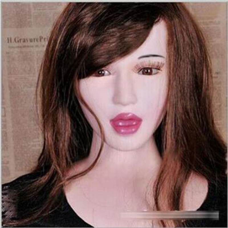 Deep throat sexy girl inflatable semi-solid silicone sex doll sextoys adults for men,realistic female sex doll(China (Mainland))