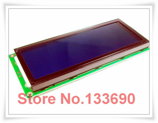 larger LCD 2004 20*4 20x4 largest character big size 204 blue screen character lcd display module 146*62.5mm LC2042 AC204B(China (Mainland))