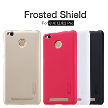 Buy Nillkin Frosted Shield Case Xiaomi Redmi 3 Pro 3S Hongmi 3 Pro 3S 5.0inch Ultra Thin Hard Back Cover + Free Film NS01 for $7.19 in AliExpress store