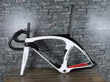Extra light carbon road frame with fork&seat post,unique design and high quality.(China (Mainland))
