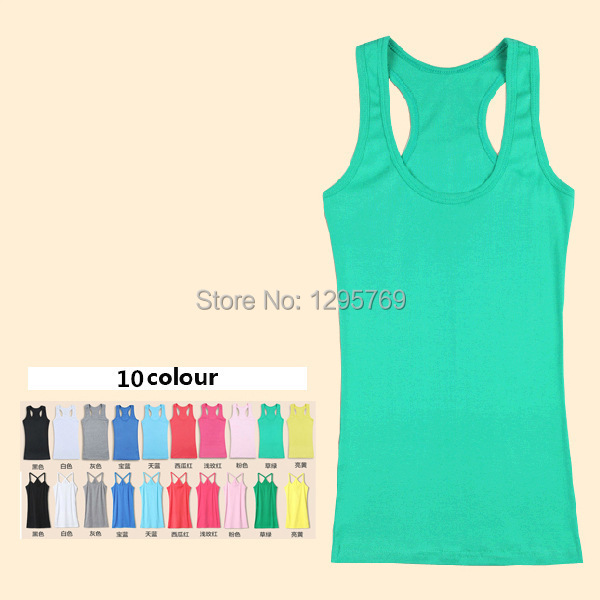 2015 Hot Sale Summer New Women Tops Candy-Colored Halter Vest Bottoming Sexy Suspenders Tank Top FC020, Free shipping(China (Mainland))