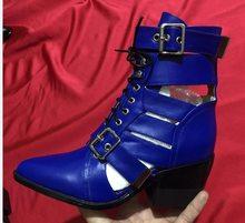 Prova Perfetto Marke Design Schlangenhaut Echtem Leder Boot Frau Spitz High Heel Stiefeletten Schnalle Lace Up Botas Feminina(China)