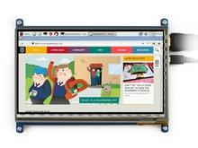 7inch HDMI LCD Raspberry Pi  1024*600 Capacitive Touch Screen Display Beaglebone Black Banana Pi/Pro Supports Various System(China (Mainland))