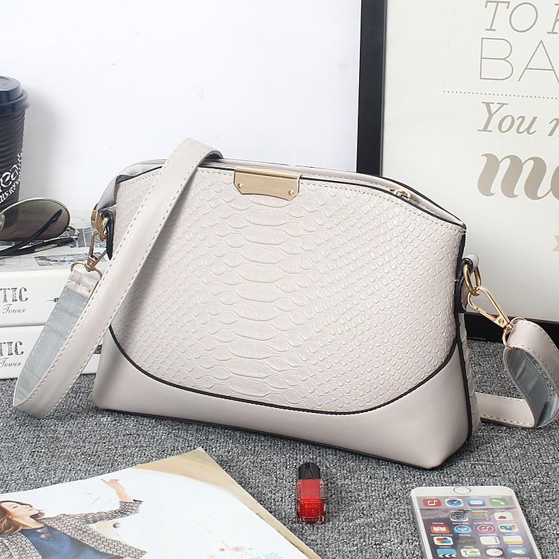 ซื้อ ผู้หญิงกระเป๋าสะพายหนังStriaeคลาสสิกแฟชั่นสไตล์ที่เรียบง่ายถุงเปลือก2016ขายร้อน