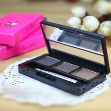 High quality professional eye brow makeup set kit waterproof eye shadow eyebrow powder make up palette