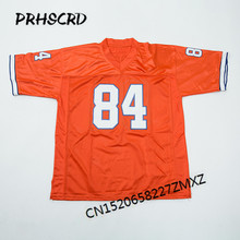 Retro star #84 Shannon Sharpe Embroidered Throwback Football Jersey(China)