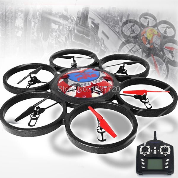 Wltoys WL Toys V323 Remote Control Big RC Quadcopter Headless 2.4GHz 4 Channel 6 Axis Gyro Helicopter UFO vs V272 - Somemart store