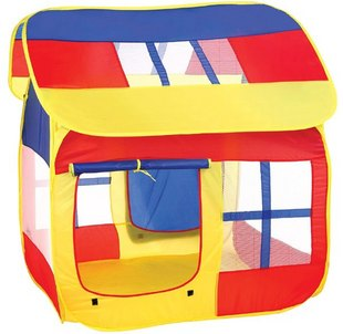 Elegant child tent oversized game house outdoor toy Children large Play House dollhouse childs' toys JP002-2 - Lao's store