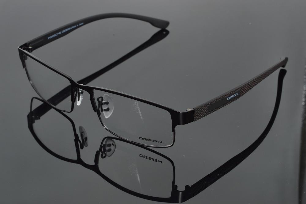 SUPER LARGE Pure Titanium ultra light weight Commercial black custom Glasses frames -1 -1.5 -2 -2.5 -3 -3.5 -4 -4.5 -5 -5.5 -6(China (Mainland))