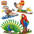LOZ Woodpecker blocks ego duplo lepin toys stickers playmobil castle starwars orbeez figure doll car brick