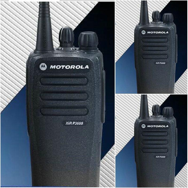 motorola digital/analog best quality 5w vhf radio xir p3688,cheap radio,high quality walkie talkie(China (Mainland))