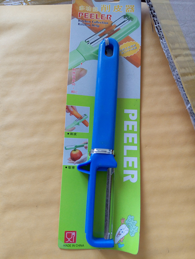Kitchen gadgets zesters,Fruit vegetable peeling knife Cooking tools, Potato tomato peelers,Color blue(China (Mainland))