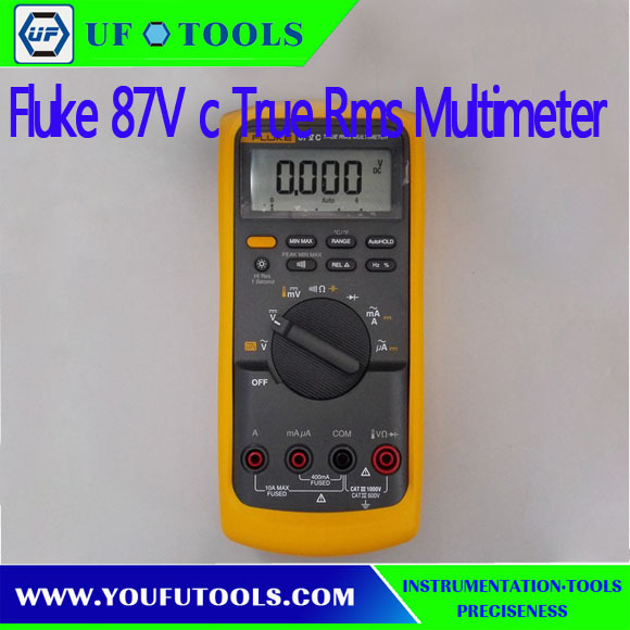 Fluke 87V C Industrial True-rms Multimeter with temperature Digital Multimter (made in china )(China (Mainland))