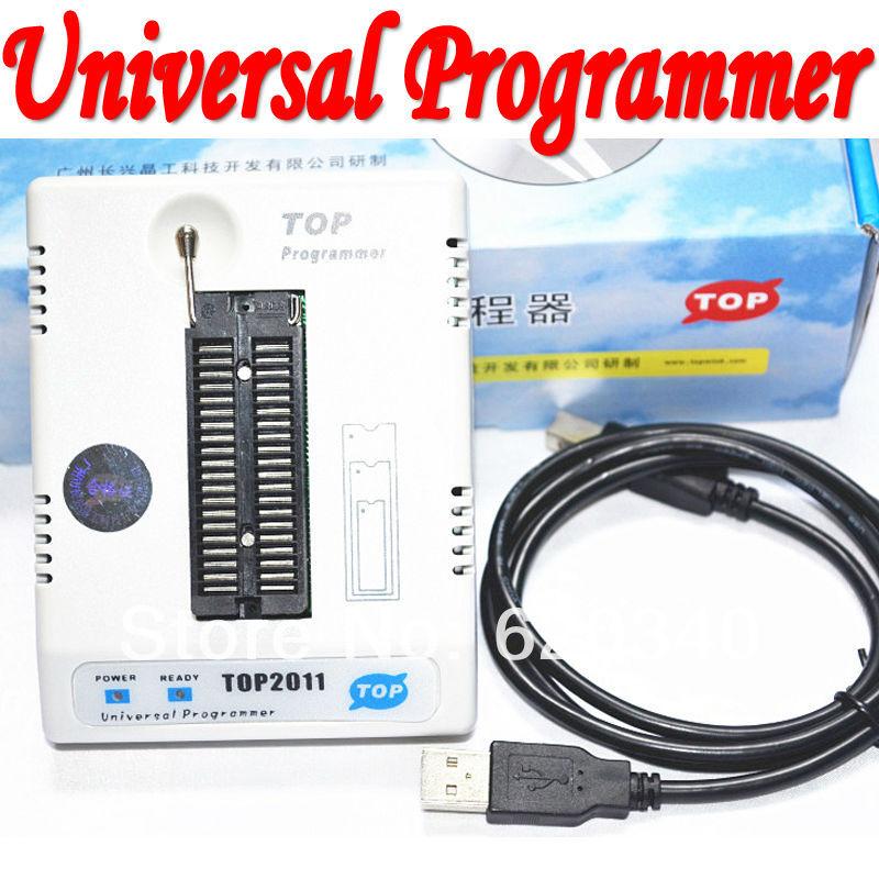Free shipping,New TOP2011 USB universal programmer EPROM MCU PIC ,Writer Duplicator Burner(China (Mainland))