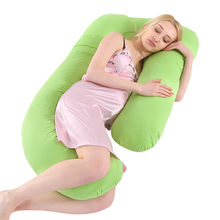 النساء الأمومة الحوامل الصلبة النوم U على شكل وسادة البطن وسادة القطن مزيج التمريض وسادة وسادة الظهر 2019 hotsale(China)