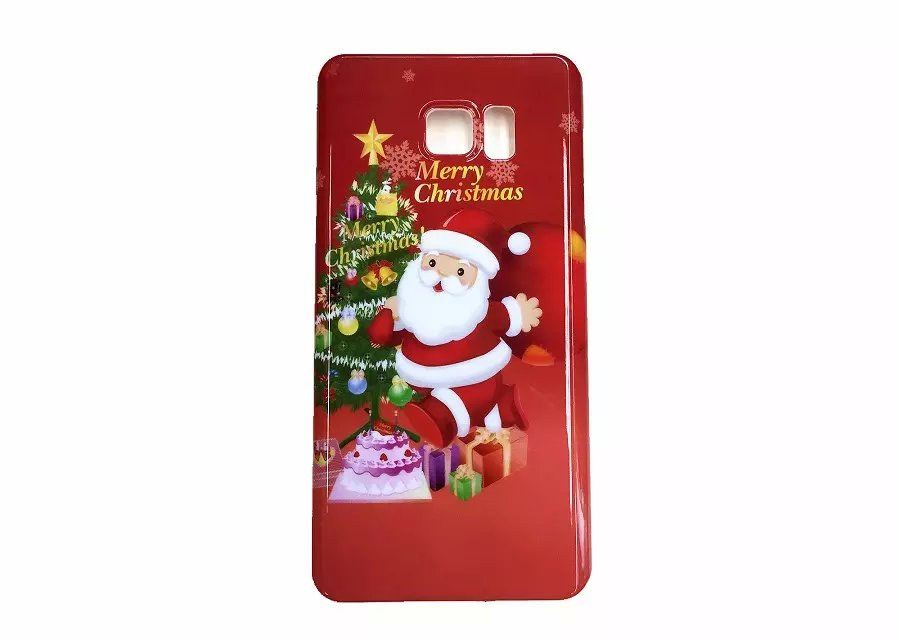 Samsung Galaxy Note 5 Case Christmas Santa Bell Lucky Cover Friend Gift Cute Hard Light Lovely 12 pics - D-Maos Technology store