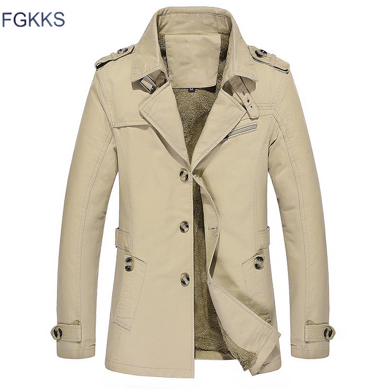 FGKKS Hot Sale Jacket Men Brand Bomber Jacket Fashion 2017 Spring Autumn Jacket Coat Black Khaki Jackets Mens(China (Mainland))