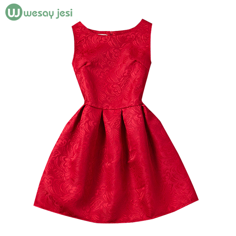 6-12Age teenage girls clothing Summer wedding dress clothes Printed Sleeveless Formal princess Party kids teenagers - WESAY JESI W Co. Ltd. Store store
