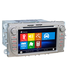 Free Shipping Free Map Wince 8.0 7 inch Car DVD GPS For Ford Focus Mondeo C-Max S-Max 2008 2009 2010 2011 2012 2013 2014